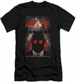 Batman Arkham City slim-fit t-shirt Obey Order Poster mens black