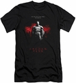 Batman Arkham City slim-fit t-shirt Standing Strong mens black
