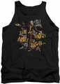 Batman Arkham City tank top About To Begin adult black