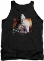 Batman Arkham City tank top Certified Insane adult black