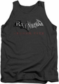 Batman Arkham City tank top Logo adult charcoal