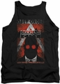 Batman Arkham City tank top Obey Order Poster adult black