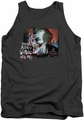 Batman Arkham City tank top Plenty Wrong adult charcoal