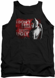 Batman Arkham City tank top So Much Ugly adult black
