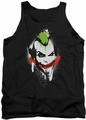 Batman Arkham City tank top Spraypaint Smile adult black