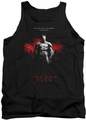 Batman Arkham City tank top Standing Strong adult black