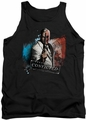 Batman Arkham City tank top Two Face adult black