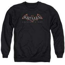 Batman Arkham Knight adult crewneck sweatshirt Logo black