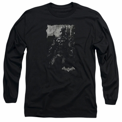 Batman Arkham Knight adult long-sleeved shirt Bat Brood black