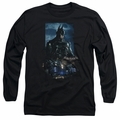 Batman Arkham Knight adult long-sleeved shirt Batmobile black