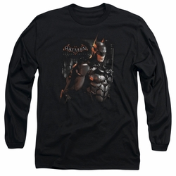 Batman Arkham Knight adult long-sleeved shirt Dark Knight black