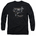 Batman Arkham Knight adult long-sleeved shirt Grapple black