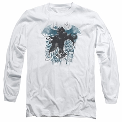 Batman Arkham Knight adult long-sleeved shirt I Know white