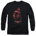 Batman Arkham Knight adult long-sleeved shirt Knight black