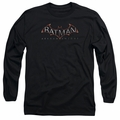 Batman Arkham Knight adult long-sleeved shirt Logo black