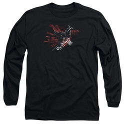 Batman Arkham Knight adult long-sleeved shirt Tech black