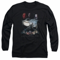 Batman Arkham Knight adult long-sleeved shirt Villain Storm black