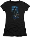 Batman Arkham Knight juniors t-shirt Batmobile black