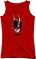 Batman Arkham Knight juniors tank top Ak Head red