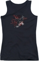 Batman Arkham Knight juniors tank top Ak Tech black
