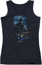 Batman Arkham Knight juniors tank top Batmobile black