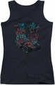 Batman Arkham Knight juniors tank top City Of Fear black