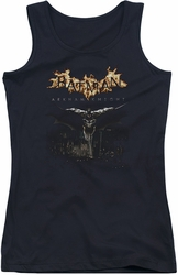 Batman Arkham Knight juniors tank top City Watch black