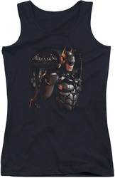 Batman Arkham Knight juniors tank top Dark Knight black