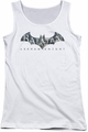 Batman Arkham Knight juniors tank top Descending Logo white