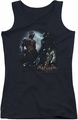 Batman Arkham Knight juniors tank top Face Off black