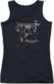Batman Arkham Knight juniors tank top Grapple black