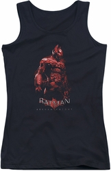 Batman Arkham Knight juniors tank top Knight black