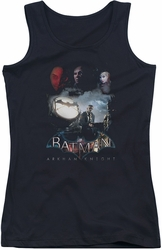 Batman Arkham Knight juniors tank top Villain Storm black