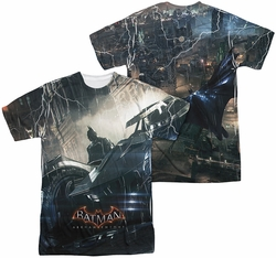 Batman Arkham Knight mens full sublimation t-shirt Into The Night
