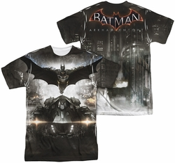 Batman Arkham Knight mens full sublimation t-shirt Poster