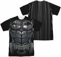 Batman Arkham Knight mens full sublimation t-shirt Uniform