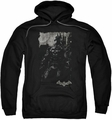 Batman Arkham Knight pull-over hoodie Bat Brood adult black
