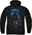 Batman Arkham Knight pull-over hoodie Batmobile adult black