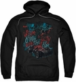Batman Arkham Knight pull-over hoodie City Of Fear adult black