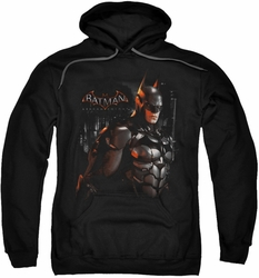 Batman Arkham Knight pull-over hoodie Dark Knight adult black