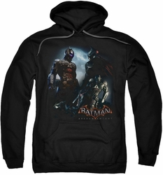 Batman Arkham Knight pull-over hoodie Face Off adult black