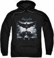 Batman Arkham Knight pull-over hoodie Forward Force adult black