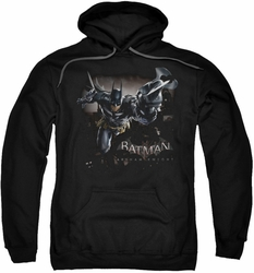 Batman Arkham Knight pull-over hoodie Grapple adult black
