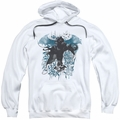 Batman Arkham Knight pull-over hoodie I Know adult white