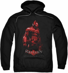 Batman Arkham Knight pull-over hoodie Knight adult black