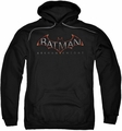 Batman Arkham Knight pull-over hoodie Logo adult black