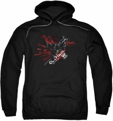 Batman Arkham Knight pull-over hoodie Tech adult black