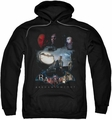 Batman Arkham Knight pull-over hoodie Villain Storm adult black