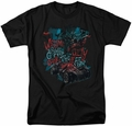 Batman Arkham Knight t-shirt City Of Fear mens black