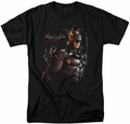 Batman Arkham Knight t-shirt Dark Knight mens black